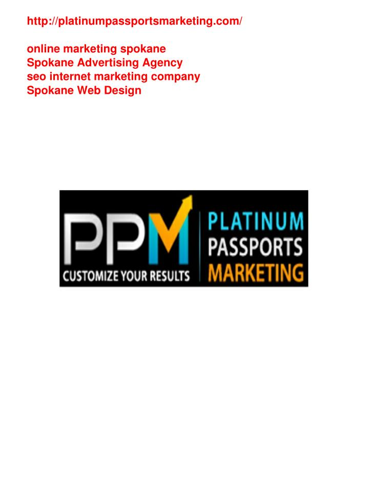 Http://platinumpassportsmarketing.com/