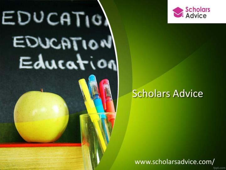Scholars Advice
