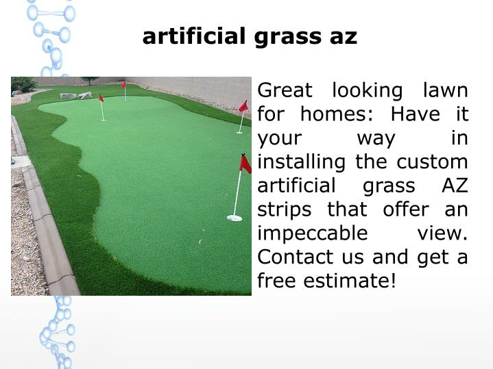 Artificial grass az