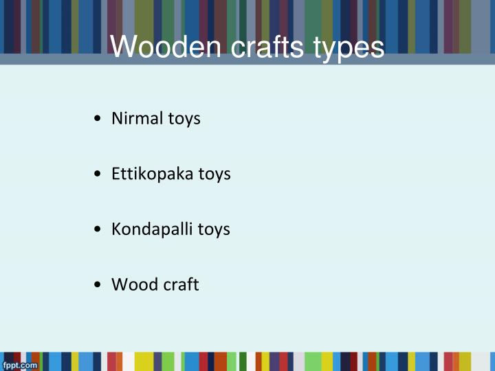 Wooden crafts types