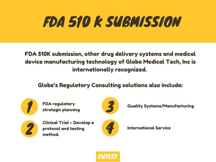 FDA 510 K SUBMISSION