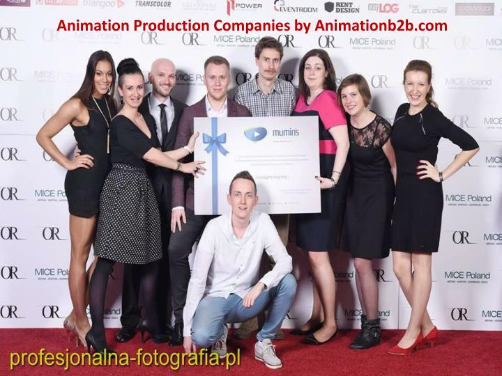Animation Production Companies by Animationb2b.com
