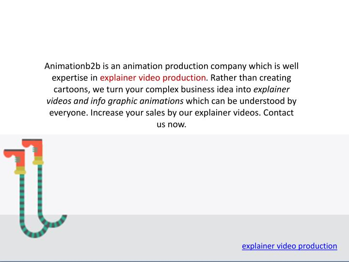 Animationb2b is an animation production company which is well expertise in