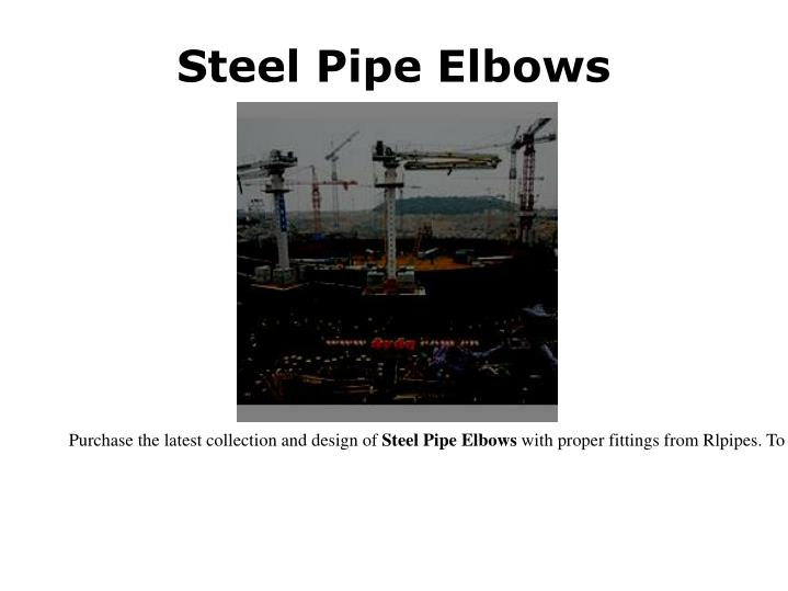 Steel Pipe Elbows