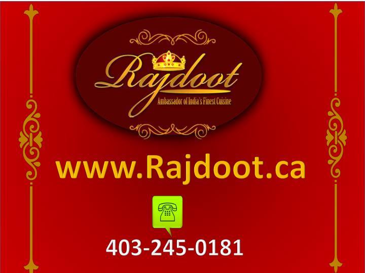 www.Rajdoot.ca