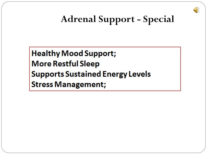 Adrenal Support - Special