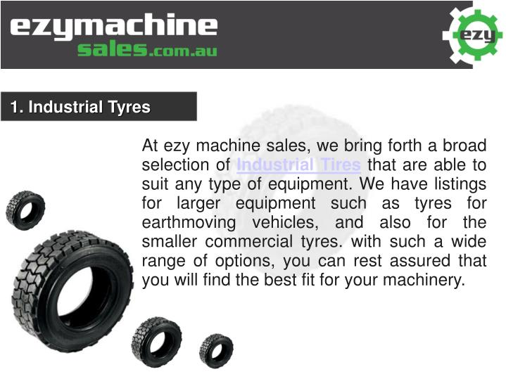 1. Industrial Tyres