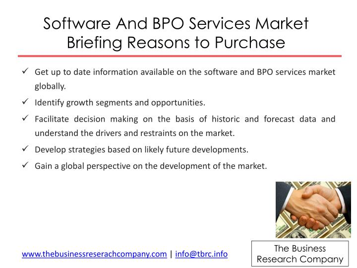 Software And BPO Services