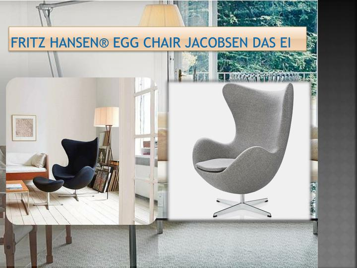 Fritz Hansen® Egg Chair Jacobsen das