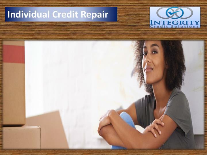 Individual Credit Repair