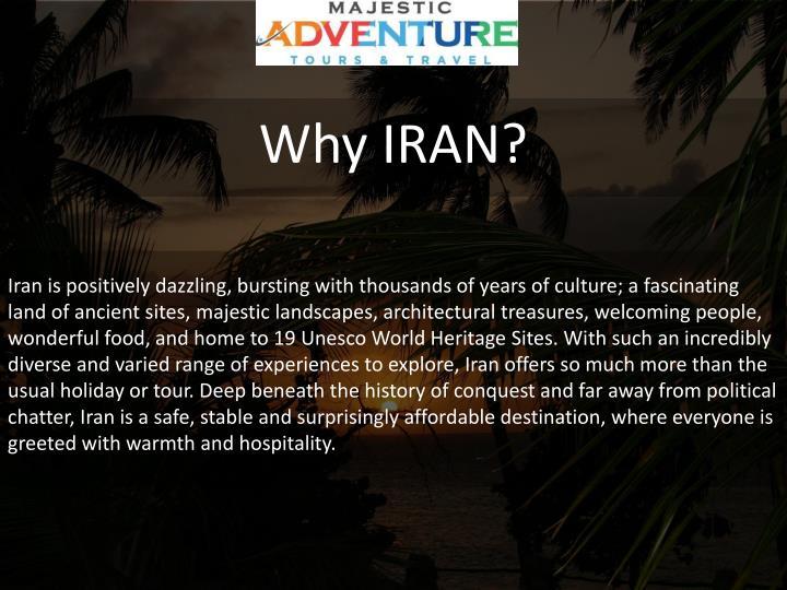 Why IRAN?