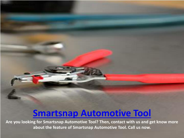 Smartsnap Automotive Tool