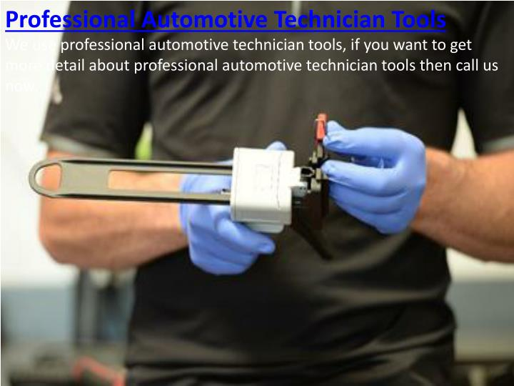 Professional Automotive Technician Tools