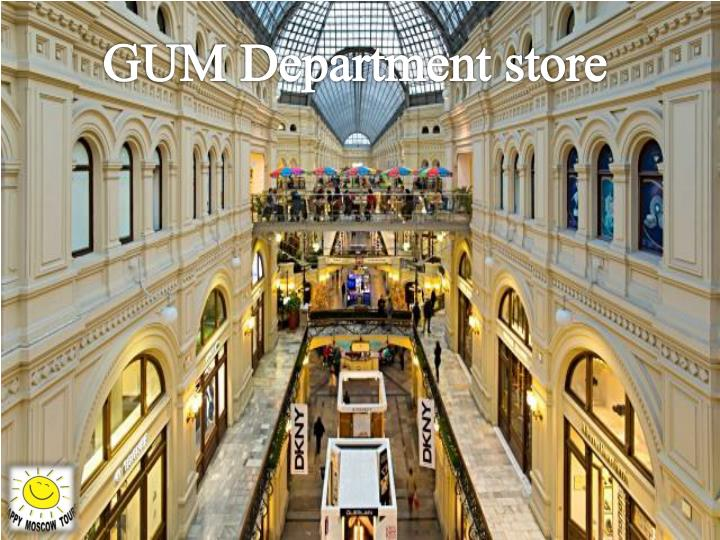 GUM Department store