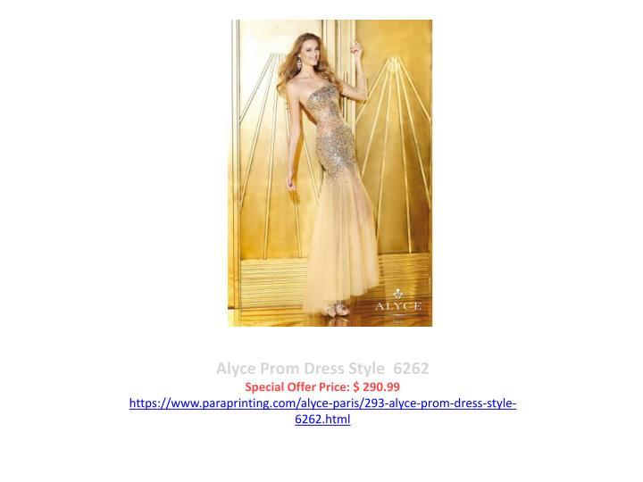 Alyce Prom Dress Style  6262