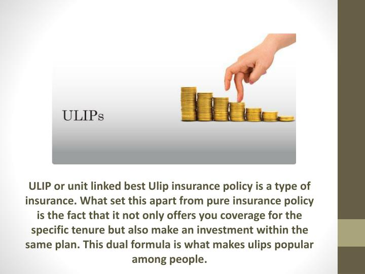 ULIP or unit linked