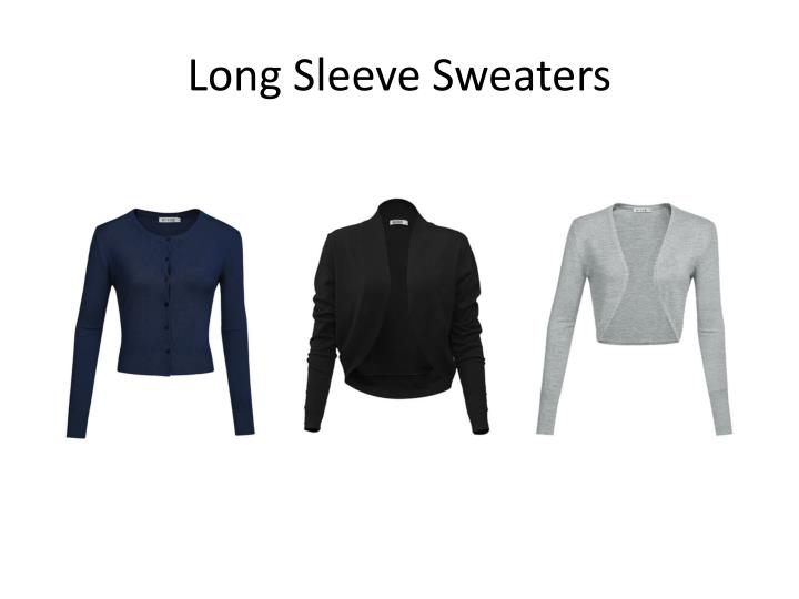 Long Sleeve Sweaters