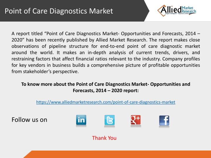 Point of Care Diagnostics Market