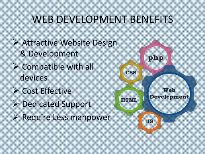 WEB DEVELOPMENT BENEFITS