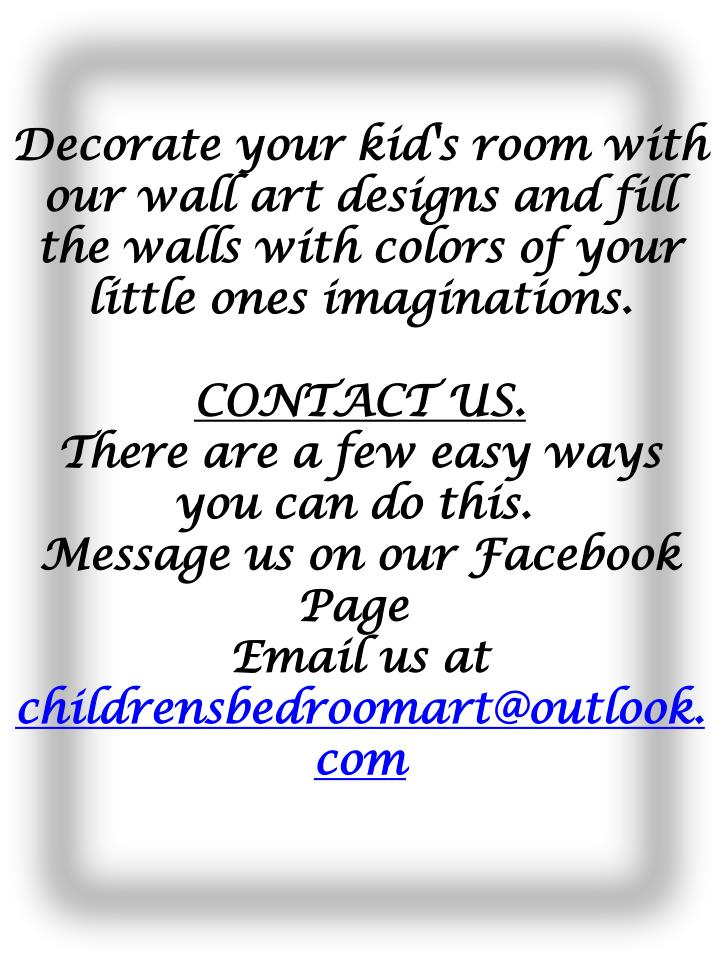 Decorate your kid's room with