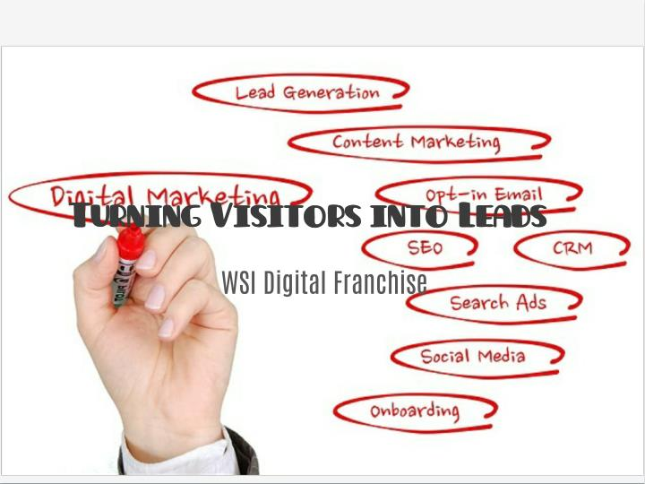 Turning Visitors into Leads