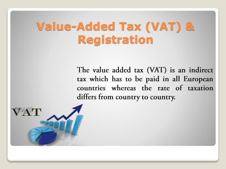 Value-Added Tax (VAT) & Registration