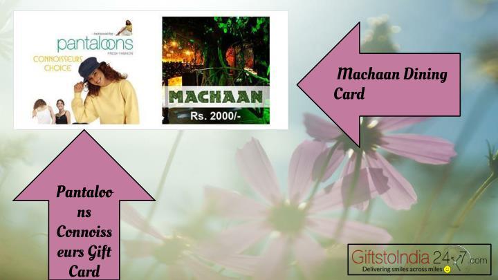 Machaan Dining Card