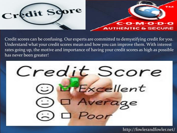 Credit scores can be confusing. Our experts are committed to demystifying credit for you. Understand...