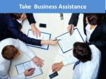 take business assistance