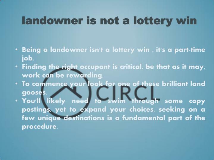 landowner