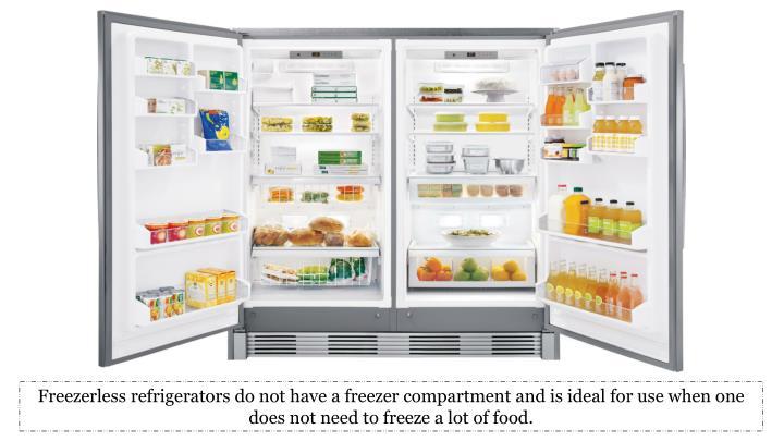 Freezerless