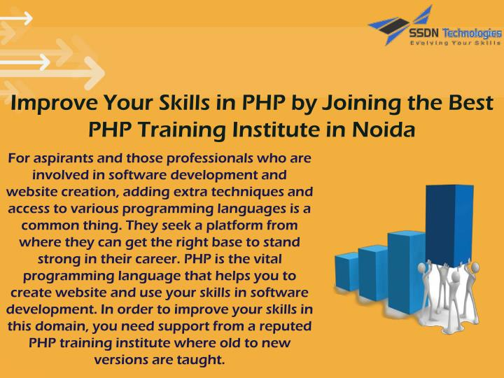 Improve Your Skills in PHP by Joining the Best PHP Training Institute in Noida