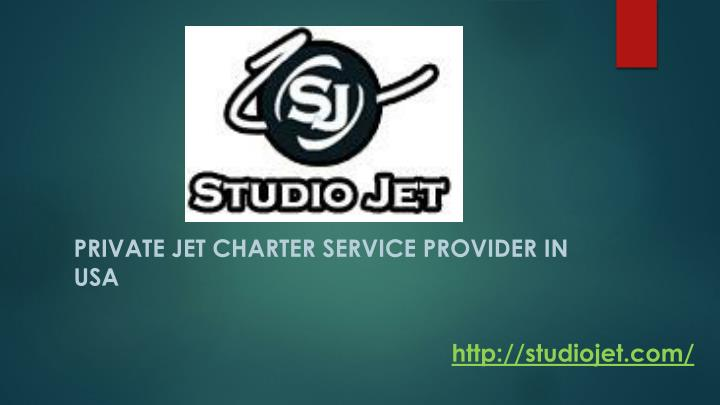 PRIVATE JET CHARTER SERVICE PROVIDER IN USA