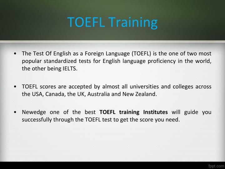 TOEFL Training
