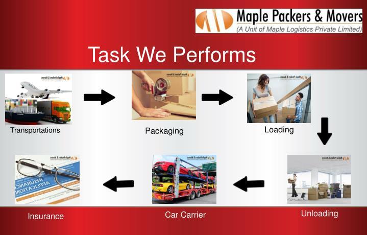 Task We Performs