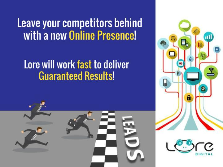 Leave your competitors behind with a new