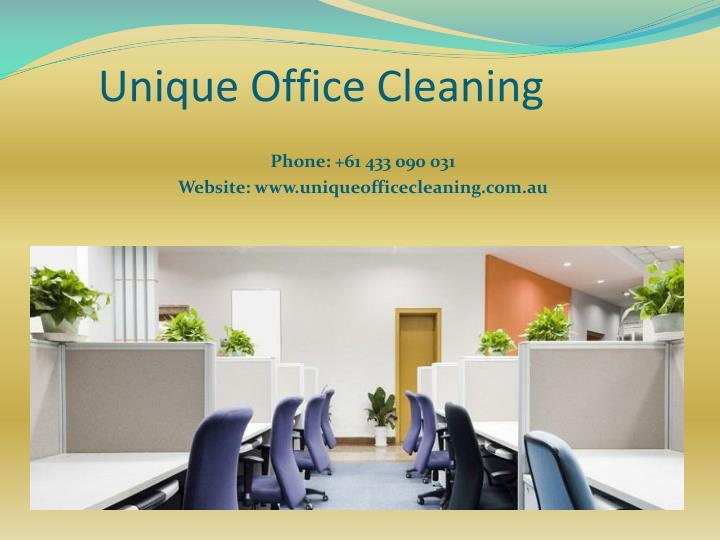 Unique Office Cleaning