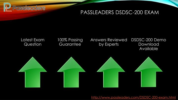 Passleaders DSDSC-200 Exam