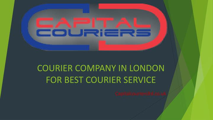 Courier company in london for best courier service