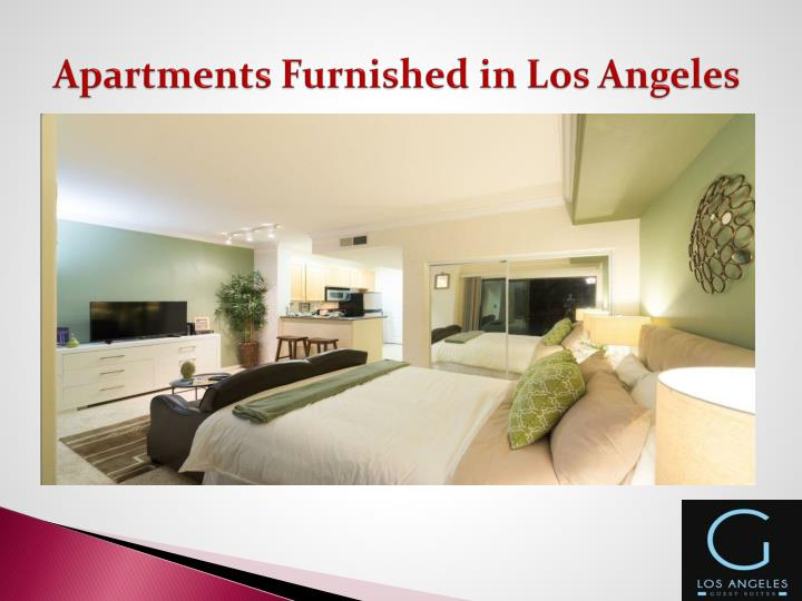 Apartments Furnishedin Los Angeles