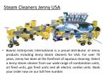 steam cleaners jenny usa