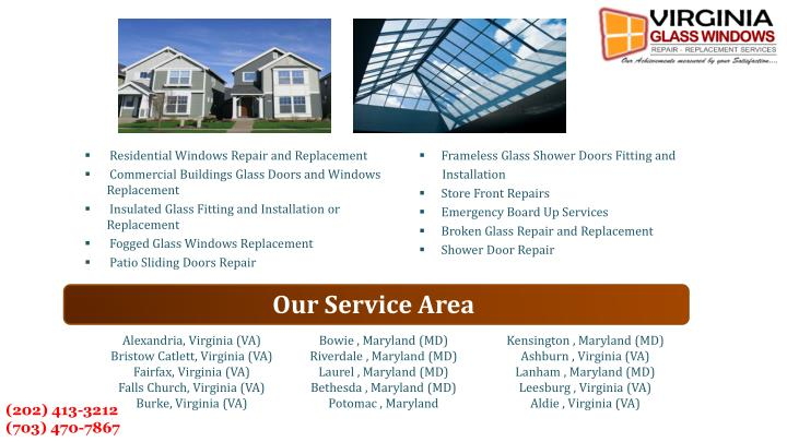 Residential Windows Repair and Replacement