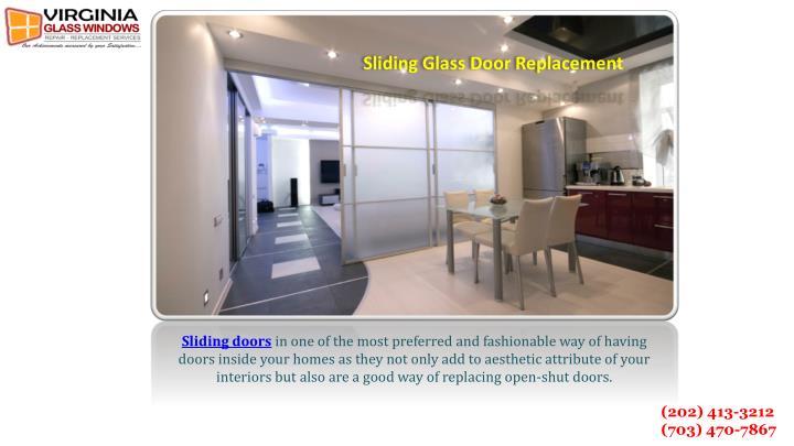 Sliding Glass Door Replacement