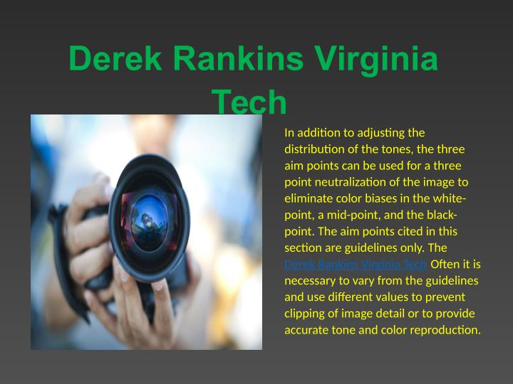Derek Rankins Virginia