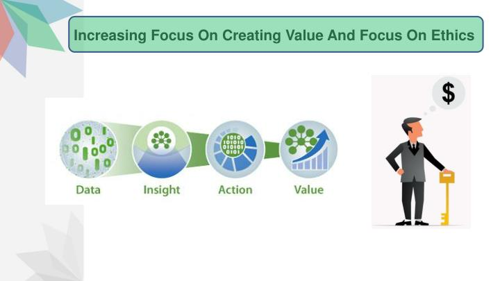 Increasing Focus On Creating Value And Focus On Ethics