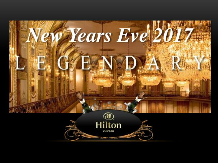 Lenegdary new years eve 2017 celebration