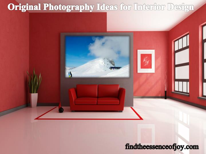 Original Photography Ideas for Interior Design