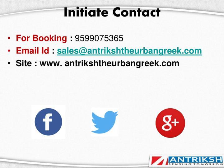 Initiate Contact