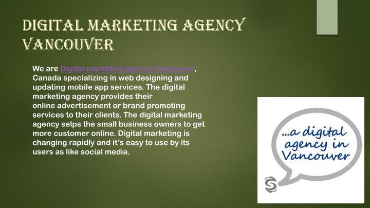 Digital Marketing Agency Vancouver