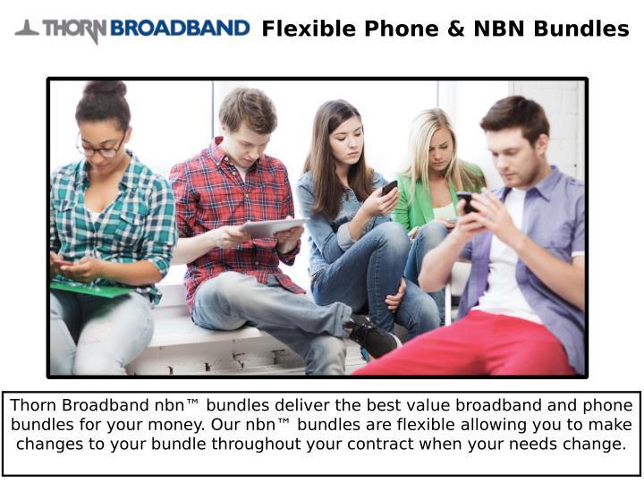 Flexible Phone & NBN Bundles
